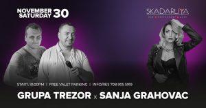 Sanja Grahovac Grupa Trezor in Skadarliya