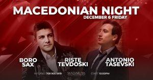 Macedonian Night In Skadarliya