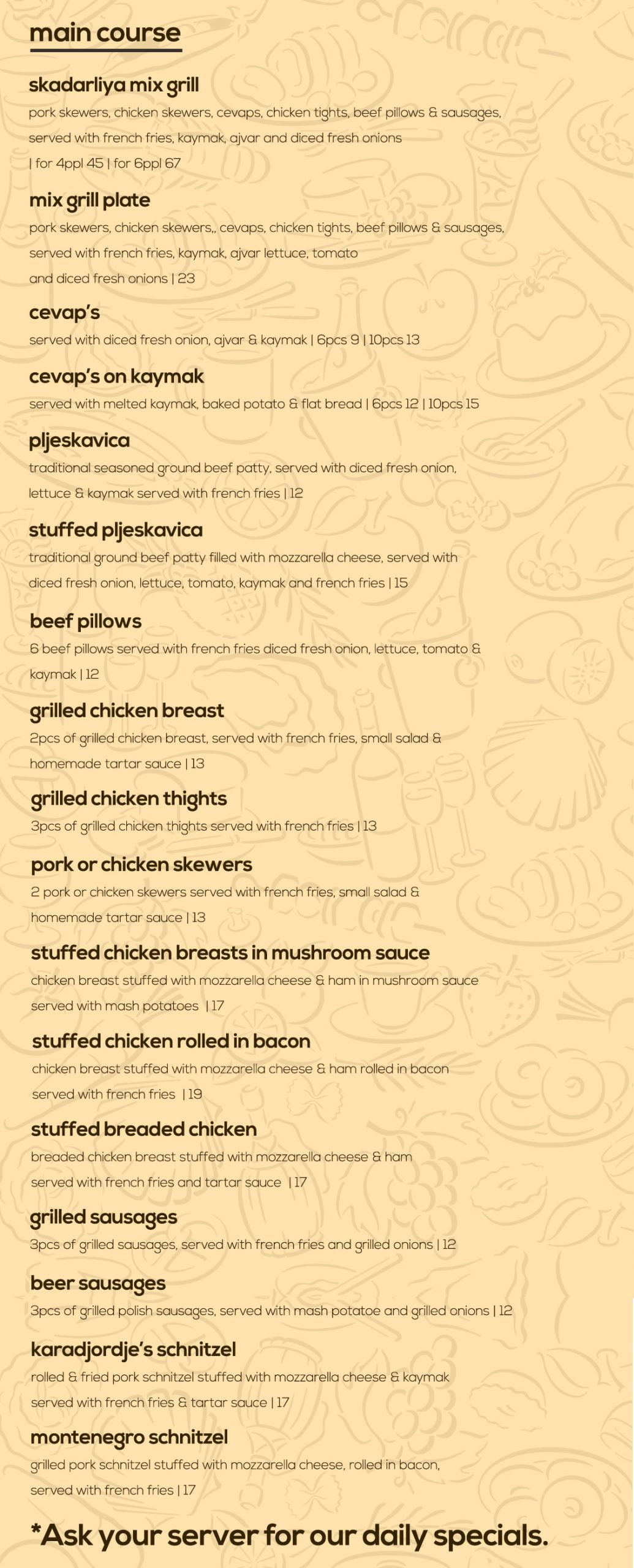 skadarliya food menu 3